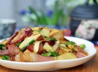 冬笋炒腊肉的做法