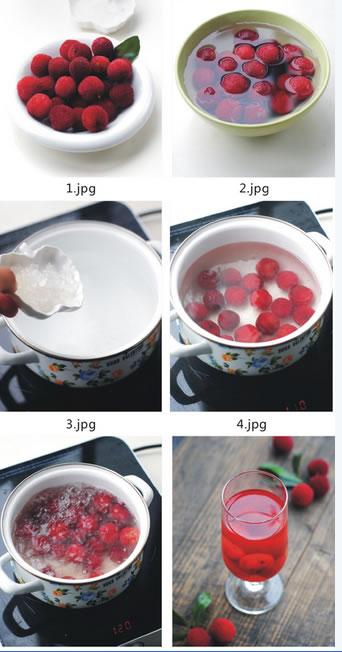 酸甜杨梅汁的做法图文步骤