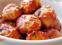 茄汁丸子的做法