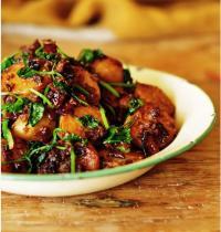 孜然肉糜土豆的做法