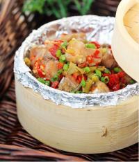 豆豉双椒蒸排骨的做法