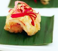玫瑰金沙虾仁的做法