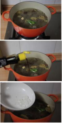 五香卤牛腩的做法