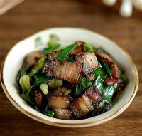 青蒜炒酱肉的做法