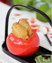 柚子茶煎鸡翅的做法
