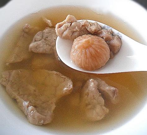 无花果猪肺汤的做法
