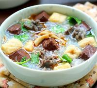 南京小吃:老鸭粉丝汤的做法