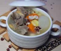 芡实萝卜龙骨汤的做法