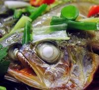 裙带菜-清蒸剁椒黄花鱼的做法
