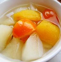 枇杷雪梨金桔汤的做法