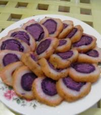 肉松紫薯的做法