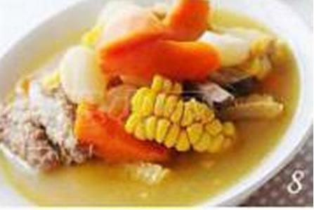 田园时蔬排骨汤的做法图文步骤
