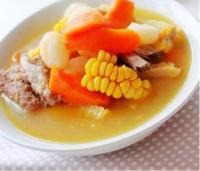 田园时蔬排骨汤的做法