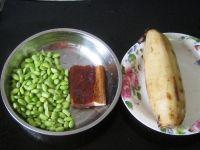 腊肉毛豆炖莲藕的做法