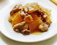 茄汁牛肉萝卜片的做法