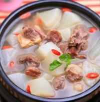 北京菜-羊肉炖白萝卜的做法