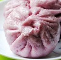 果香紫薯包的做法