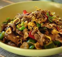 香茅姜黄炒牛肉的做法