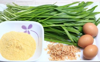 北京菜-韭菜鸡蛋糊饼的做法图文步骤