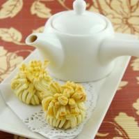 中秋月饼【花开富贵】的做法
