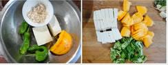 南瓜炒豆腐的做法图文步骤