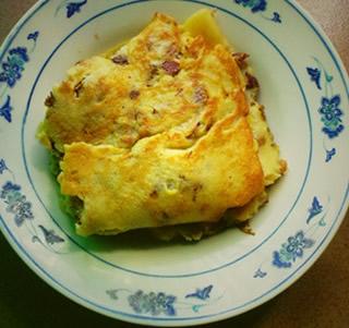红枣鸡蛋煎饼的做法