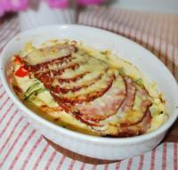 奶油烤熏猪肉的做法