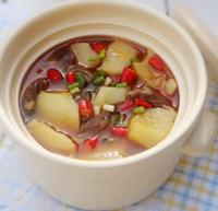 鸡心炖土豆的做法