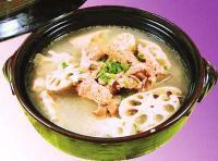 莲藕冬瓜瘦肉扁豆汤的做法