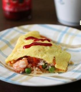 青豆蛋包饭的做法