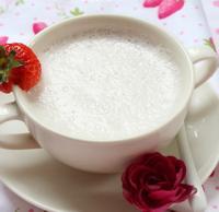 火龙果草莓奶昔的做法