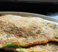 西红柿鸡蛋煎饼的做法