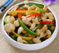 蚝油彩椒白玉菇的做法