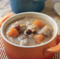 奶香芡实香芋羹的做法