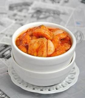 海鲜麻婆豆腐的做法