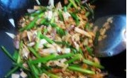炒韭苔的做法图文步骤
