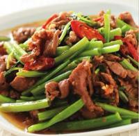 空心菜沙茶羊肉的做法
