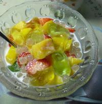 西米水果捞的做法