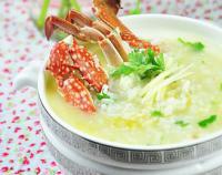 海鲜螃蟹粥的做法