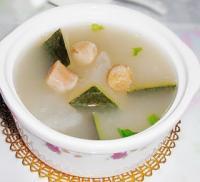 干贝冬瓜猪骨汤的做法