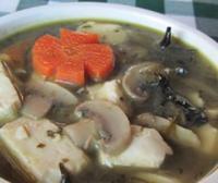 菌菇笃菜豆腐汤的做法