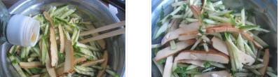 黄瓜拌香干的做法图文步骤