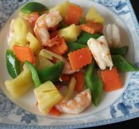 果蔬虾仁的做法