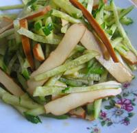 黄瓜拌香干的做法