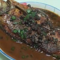 豆豉烧鳊鱼的做法