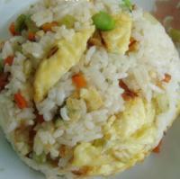 香芹蛋炒饭的做法