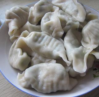 蘑菇水饺的做法