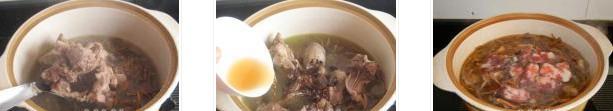 豇豆干香肠飞鸭煲的做法图文步骤
