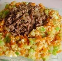 西葫芦肉末豆腐的做法