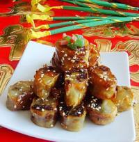 京味小吃:糖卷果的做法
